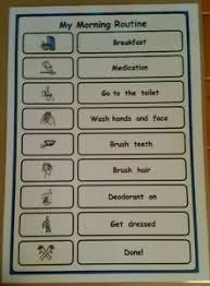 Adhd Morning Routine Chart Details About My Morning Routine Checklist Support Aid For Autism Adhd Visual Learners Sen