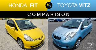 Honda <b>Fit</b> vs <b>Toyota</b> Vitz - Used Hatchback Features & Price ...