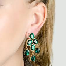 green cz fancy chandelier earrings lighting ideas