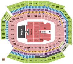 Lincoln Financial Field Seating Chart Kenny Chesney Lincoln Financial Field Seating Chart Philadelphia