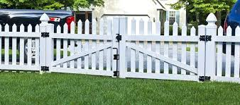 picket fence double gate. Unique Picket Picket Fences And Gates Double Wide Gate In Fence Electric  Sydney Intended Picket Fence Double Gate