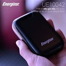 Sạc dự phòng Energizer 10.000mAh /3.7V Li-Polymer - UE10042BK Đen