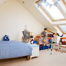 contemporary attic bedroom ideas displaying cool. Boys\u0027 Loft Bedroom With Neytral Carpet And Blue Bed Contemporary Attic Ideas Displaying Cool G