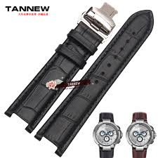 online buy whole gc watches from gc watches whole rs tannew notch leather watchband men s butterfly buckle strap leather strap watch bracelet applicable gc 22x13mm 20x11mm