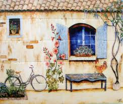 french country kitchen backsplash tiles wall murals large kitchen wall murals