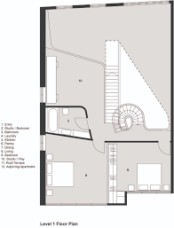 Gallery Of Loft Apartment Melbourne  Adrian Amore - Loft apartment floor plans