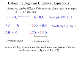 balancing difficult chemical equations jennarocca