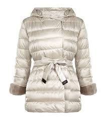Lyst - Max mara Noveh Reversible Quilted Short Coat in Natural & Gallery Adamdwight.com