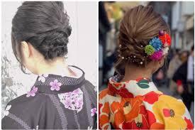 ショートのヘアアレンジ 京都着物浴衣レンタル咲く都 人気の