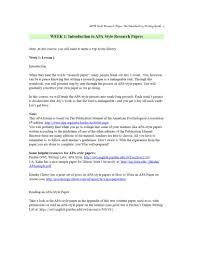 Research Paper Apa Format Sample Get Professional Writing