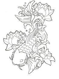 Small Picture 261 best goldfish koi fish angel fish patterns designs images