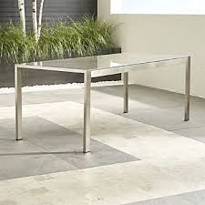 glass dining furniture. Dune Rectangular Dining Table With Taupe Painted Glass Furniture