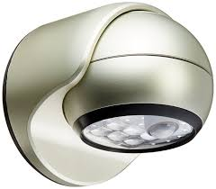 home interior energy outdoor motion sensor light battery operated mr beams 400 lumen brown weatherproof