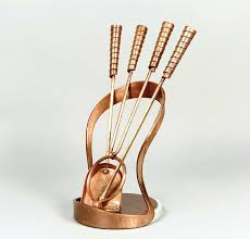 copper fireplace tool set contemporary fireplace tools a copper antique copper fireplace tool set