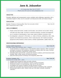 Successful Resume Examples Adorable Nursing Student Resume Bravebtr