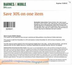 Barnes and Noble coupons 32