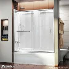 frameless sliding bath shower doors glass tub enclosures door installation infinity z and acrylic bathrooms