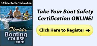 Certification Boat Online Safety Florida Boating Course