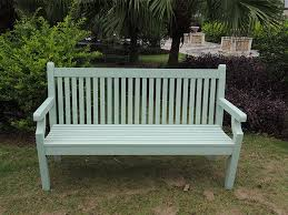 in stock winawood 3 seater sandwick bench duck egg finish