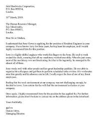 Formal Letter Example Gplusnick