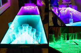 ping pong lighting. led ping pong game table infinity glow photo courtesy of ledbeerpingpongtablescom please see bottom the article for video in action lighting g