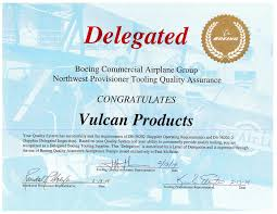About Us Vulcan Products Company Inc