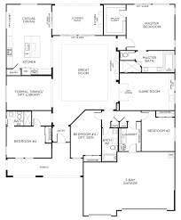 house plans one story. Simple Story Love This Layout With Extra Rooms Single Story Floor Plans  One  House Pardee Homes And T