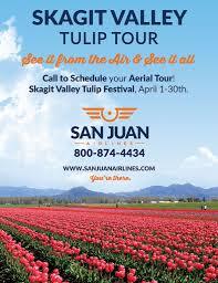 skagit valley tulip festival flight tours