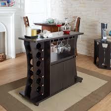 modern wine rack furniture. Modern Buffet Table Caster Wheels Wine Rack Glassware Storage Espresso Finish Furniture Y