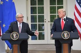 Resultado de imagen para EEUU y UE anuncian pacto para desactivar su conflicto comercial
