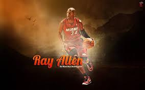 nba player sport ray allen basketball miami heat wallpaper 1920x1200 80594 wallpaperup