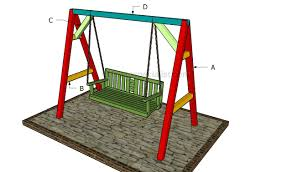 How To Build A Porch Swing How To Build An A Frame Swing Howtospecialist How To Build