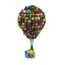 Up House Balloons Lego Ideas Up The Balloon House
