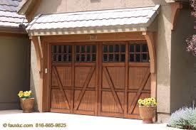 metal garage doorsGarage Doors  FauxKC