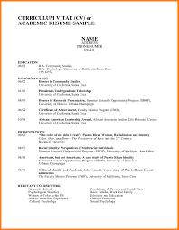 Examples Of Academic Achievements Resume Academic Resume Examples Examples Of Resumes Academic Resume 10