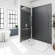 walk in showers. Fine Showers Mode 8mm Spacious Walk In Shower Enclosure With Tray And Hinged Return Panel In Walk Showers E