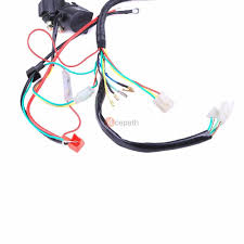 complete electrics all wiring harness wire stator for atv quad complete electrics all wiring harness wire stator for atv quad 50cc 110cc 125cc 7 7 of 8