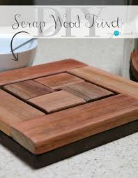 make a beautiful s wood trivet with a picture tutorial at mylove2create