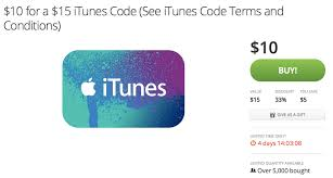 deals on itunes cards uk