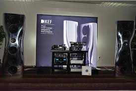 kef muon speakers. playing (vinyl) was gershwin\u0027s rhapsody in blue. the system amazed us with its power, details and finesse. harry weisfeld explained intricate workings kef muon speakers s