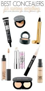 the top makeup concealers that cover under eye circles dark spots hyperpigmentation and more