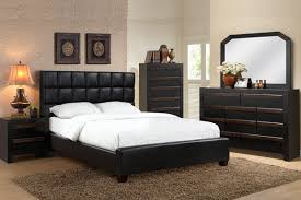 bedroom furniture pics. 4 pc queen bedroom set faux leather headboard furniture pics o