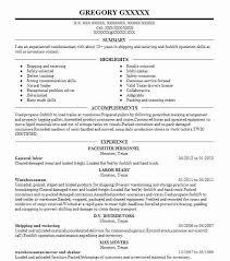 general labor resume laborer format objective sample warehouse . general labor  resume ...