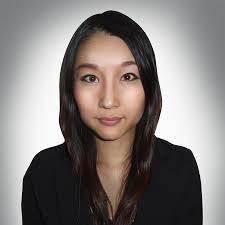 asian woman shoulders up make up