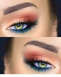 make up looks for green eyes milas net