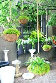plant pot hangers wall hanging compact pots charming outdoor planter indoor holders for fences nz