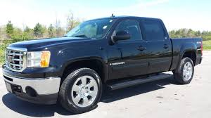 sold.2009 GMC SIERRA 1500 SLT CREW CAB 4X4 BLACK 39K GM CERTIFIED ...
