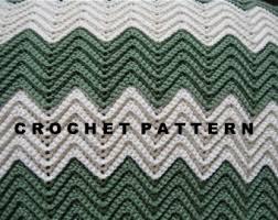 Double Crochet Ripple Afghan Pattern Impressive Crochet Pattern Ripple Blanket