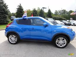 nissan juke electric blue. Brilliant Blue Electric Blue 2011 Nissan Juke SL AWD Exterior Photo 71445086 With S