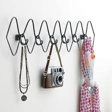6 Hook Wall Coat Rack 100 hook gauge metal coat rack in wall mounted storage CB100 100100 21